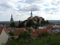 pohled na zámek Mikulov