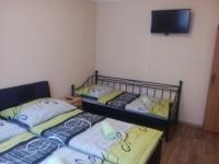 5-lůžkový apartmán, pokoj s manželskou postelí